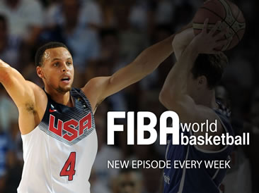 FIBA World Basketball Episode 722 logo
